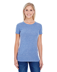 Navy Triblend Ladies' Triblend Short-Sleeve Tee