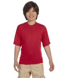 True Red Youth 5.3 oz., 100% Polyester SPORT with Moisture-Wicking T-Shirt