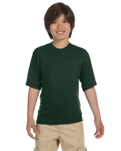 Forest Green Youth 5.3 oz., 100% Polyester SPORT with Moisture-Wicking T-Shirt