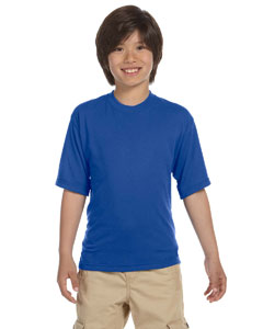 Royal Youth 5.3 oz., 100% Polyester SPORT with Moisture-Wicking T-Shirt
