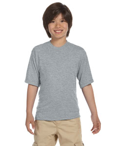 Athletic Heather Youth 5.3 oz., 100% Polyester SPORT with Moisture-Wicking T-Shirt