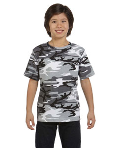 Urban Woodland Youth Camouflage T-Shirt