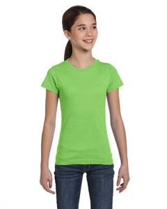 Key Lime Girls' Fine Jersey T-Shirt