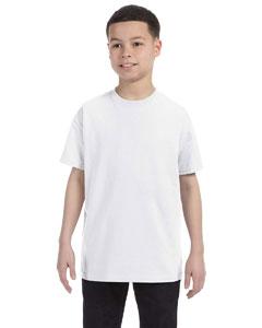 White Youth 5.6 oz., 50/50 Heavyweight Blend™ T-Shirt