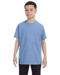 Light Blue Youth 5.6 oz., 50/50 Heavyweight Blend™ T-Shirt