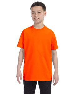 Safety Orange Youth 5.6 oz., 50/50 Heavyweight Blend™ T-Shirt
