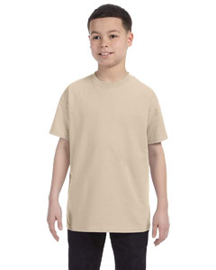 Sandstone Youth 5.6 oz., 50/50 Heavyweight Blend™ T-Shirt