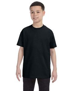 Black Youth 5.6 oz., 50/50 Heavyweight Blend™ T-Shirt