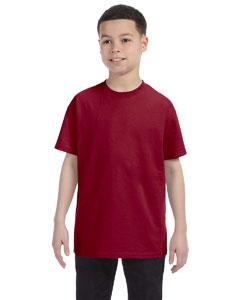 Cardinal Youth 5.6 oz., 50/50 Heavyweight Blend™ T-Shirt