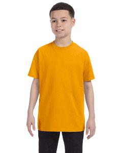 Gold Youth 5.6 oz., 50/50 Heavyweight Blend™ T-Shirt