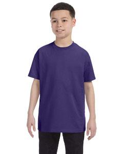 Deep Purple Youth 5.6 oz., 50/50 Heavyweight Blend™ T-Shirt