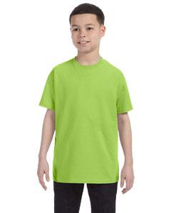 Neon Green Youth 5.6 oz., 50/50 Heavyweight Blend™ T-Shirt