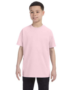 Classic Pink Youth 5.6 oz., 50/50 Heavyweight Blend™ T-Shirt