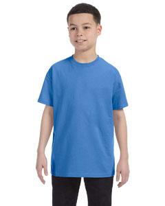 Columbia Blue Youth 5.6 oz., 50/50 Heavyweight Blend™ T-Shirt