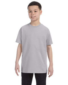 Silver Youth 5.6 oz., 50/50 Heavyweight Blend™ T-Shirt