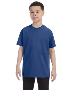 Vintage Hth Blue Youth 5.6 oz., 50/50 Heavyweight Blend™ T-Shirt