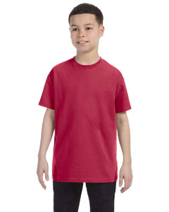 Vintage Hth Red Youth 5.6 oz., 50/50 Heavyweight Blend™ T-Shirt