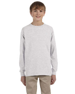 Ash Youth 5.6 oz., 50/50 Heavyweight Blend™ Long-Sleeve T-Shirt