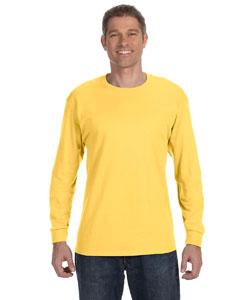 Island Yellow 5.6 oz., 50/50 Heavyweight Blend™ Long-Sleeve T-Shirt