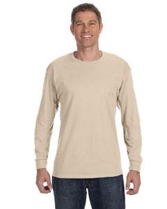 Sandstone 5.6 oz., 50/50 Heavyweight Blend™ Long-Sleeve T-Shirt