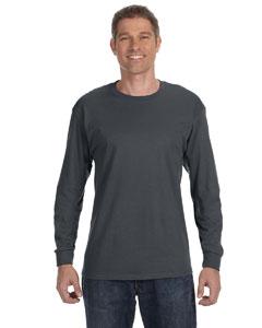 Charcoal Grey 5.6 oz., 50/50 Heavyweight Blend™ Long-Sleeve T-Shirt