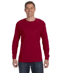 Cardinal 5.6 oz., 50/50 Heavyweight Blend™ Long-Sleeve T-Shirt