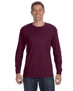 Maroon 5.6 oz., 50/50 Heavyweight Blend™ Long-Sleeve T-Shirt