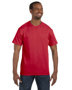 True Red 5.6 oz., 50/50 Heavyweight Blend™ T-Shirt