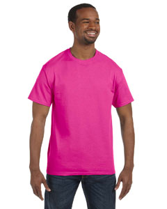 Cyber Pink 5.6 oz., 50/50 Heavyweight Blend™ T-Shirt