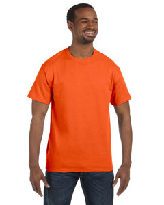 Safety Orange 5.6 oz., 50/50 Heavyweight Blend™ T-Shirt
