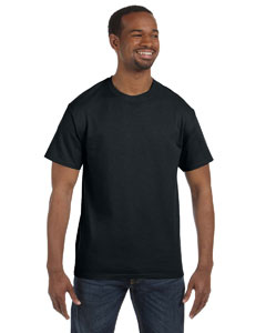 Black 5.6 oz., 50/50 Heavyweight Blend™ T-Shirt