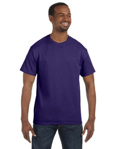 Deep Purple 5.6 oz., 50/50 Heavyweight Blend™ T-Shirt