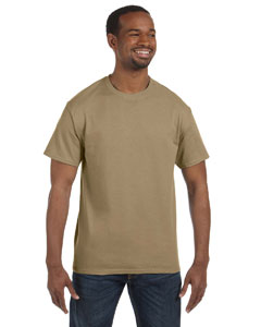 Khaki 5.6 oz., 50/50 Heavyweight Blend™ T-Shirt