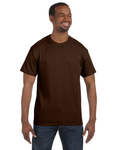 Chocolate 5.6 oz., 50/50 Heavyweight Blend™ T-Shirt