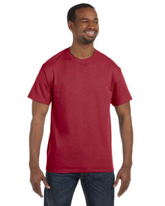 Crimson 5.6 oz., 50/50 Heavyweight Blend™ T-Shirt