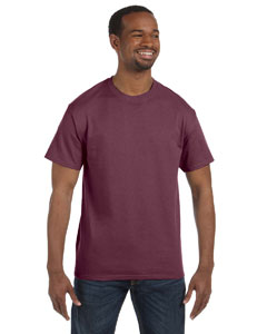 Vint Hth Maroon 5.6 oz., 50/50 Heavyweight Blend™ T-Shirt
