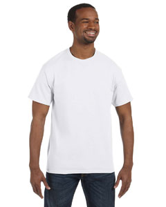 White Tall 5.6 oz., 50/50 Heavyweight Blend™ T-Shirt