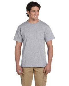 Oxford 5.6 oz., 50/50 Heavyweight Blend™ Pocket T-Shirt