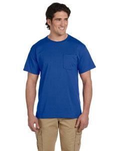Royal 5.6 oz., 50/50 Heavyweight Blend™ Pocket T-Shirt
