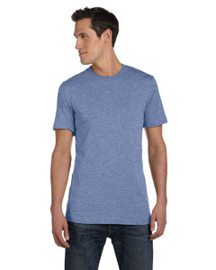 Heather Blue Unisex Jersey Short-Sleeve T-Shirt