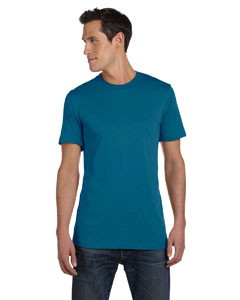 Deep Teal Unisex Jersey Short-Sleeve T-Shirt