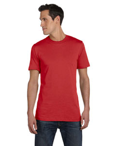 Canvas Red Unisex Jersey Short-Sleeve T-Shirt