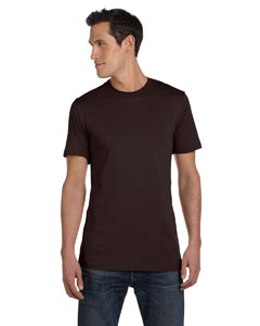 Brown Unisex Jersey Short-Sleeve T-Shirt