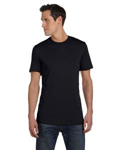 Black Unisex Jersey Short-Sleeve T-Shirt