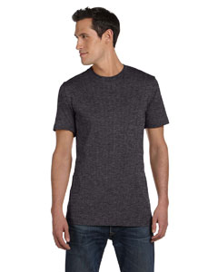 Dark Grey Heather Unisex Jersey Short-Sleeve T-Shirt