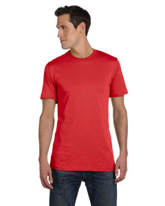 Heather Red Unisex Jersey Short-Sleeve T-Shirt