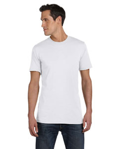 Solid Wht Blend Unisex Jersey Short-Sleeve T-Shirt