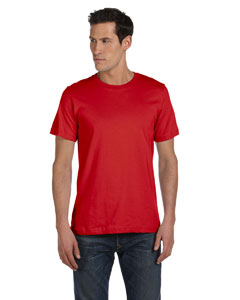 Red Unisex Made in the USA Jersey Short-Sleeve T-Shirt