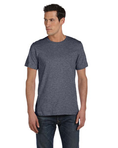Deep Heather Unisex Made in the USA Jersey Short-Sleeve T-Shirt