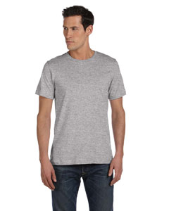 Athletic Heather Unisex Made in the USA Jersey Short-Sleeve T-Shirt